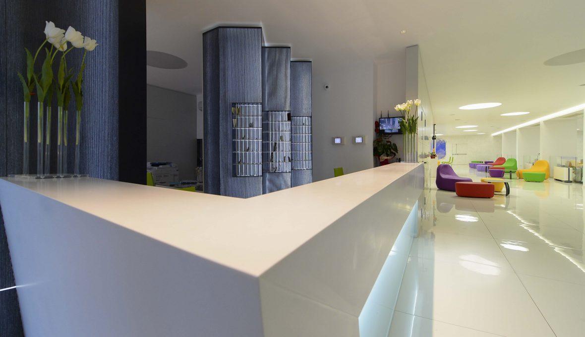 Hotel Giulivo_ reception_Architetto Raffaele Carrella