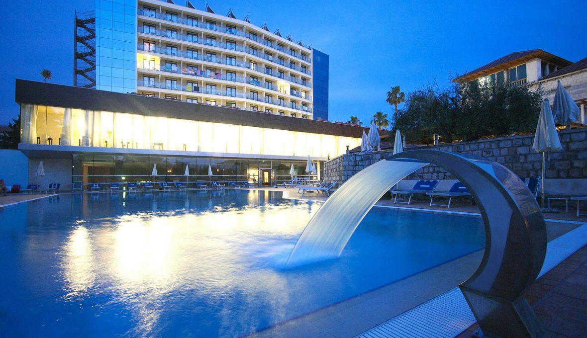 Grand Hotel ParkDubrovnik_piscina_Architetto Raffaele Carrella