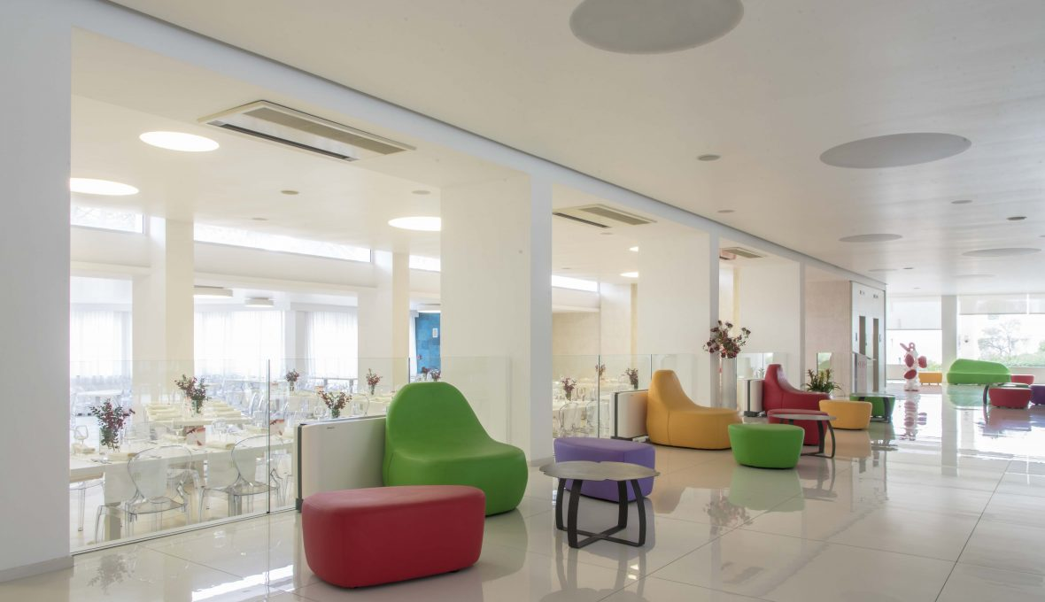 Architetto Raffaele Carrella_Hotel Giulivo_reception